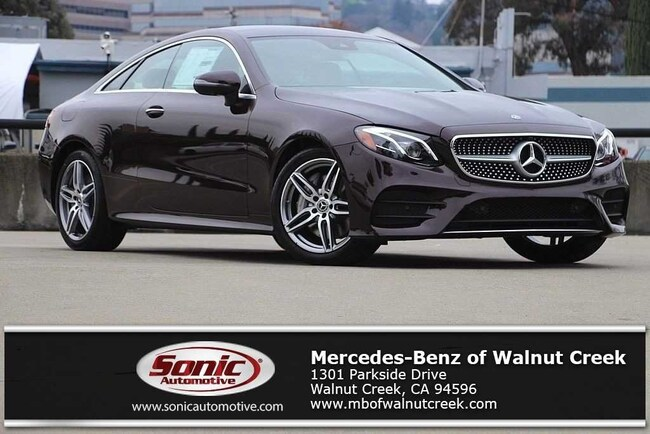 Used 2019 Mercedes-Benz E-Class E 450 Coupe in Belmont