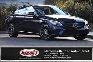 Certified Pre-Owned 2019 Mercedes-Benz C-Class C 300 Sedan for sale in Walnut Creek, near Oakland CA