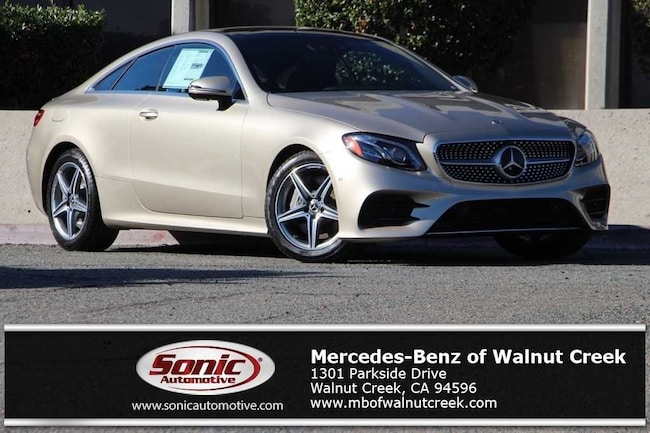 New 2019 Mercedes-Benz E-Class E 450 Coupe for sale near San Francisco, in Walnut Creek