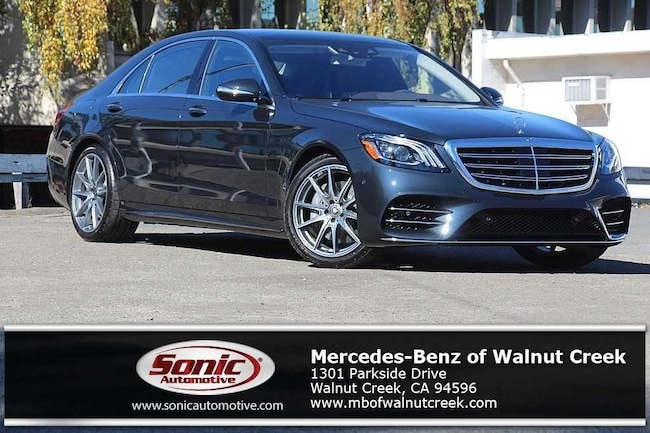 New 2019 Mercedes-Benz S-Class S 560 Sedan for sale near San Francisco, in Walnut Creek