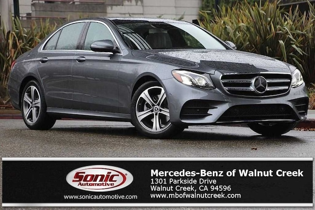 New 2019 Mercedes-Benz E-Class E 300 Sedan for sale near San Francisco, in Walnut Creek