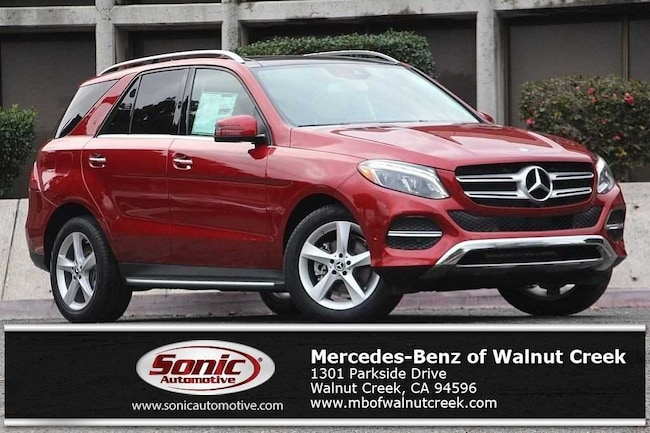 New 2018 Mercedes-Benz GLE 350 4MATIC SUV for sale near San Francisco, in Walnut Creek