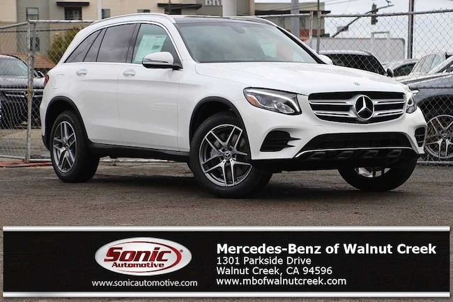 New 2019 Mercedes-Benz GLC 300 4MATIC SUV for sale near San Francisco, in Walnut Creek