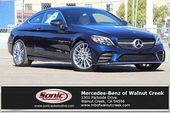New 2019 Mercedes-Benz C-Class C 300 Coupe for sale near San Francisco, in Walnut Creek