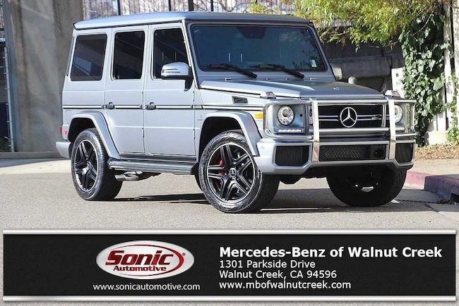 Certified Pre-Owned 2018 Mercedes-Benz AMG G 63 Base SUV for sale in Walnut Creek, near Oakland CA