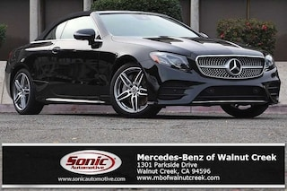 New 2019 Mercedes-Benz E-Class E 450 Cabriolet for sale in Walnut Creek, CA