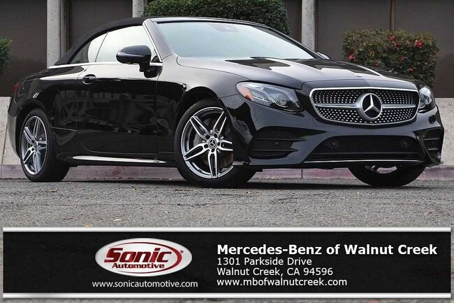 New 2019 Mercedes-Benz E-Class E 450 Cabriolet for sale near San Francisco, in Walnut Creek
