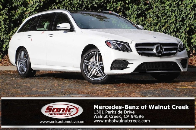 New 2018 Mercedes-Benz E-Class E 400 4MATIC Wagon for sale near San Francisco, in Walnut Creek