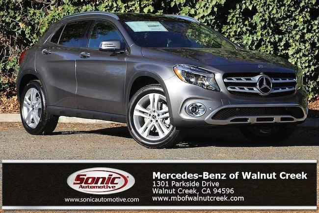 New 2019 Mercedes-Benz GLA 250 4MATIC SUV for sale near San Francisco, in Walnut Creek