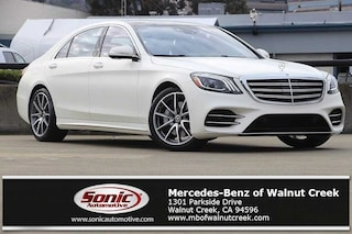 New 2019 Mercedes-Benz S-Class S 450 Sedan for sale in Walnut Creek, CA