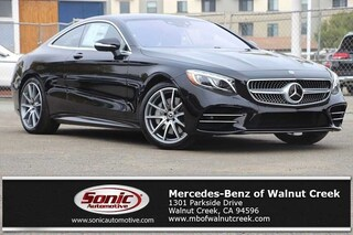 New 2019 Mercedes-Benz S-Class S 560 4MATIC Coupe for sale in Walnut Creek, CA