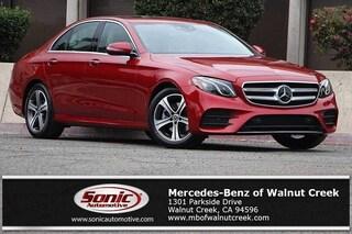 New 2019 Mercedes-Benz E-Class E 300 Sedan for sale in Walnut Creek, CA