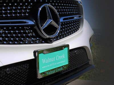 Mercedes-Benz of Walnut Creek License Plate Frame