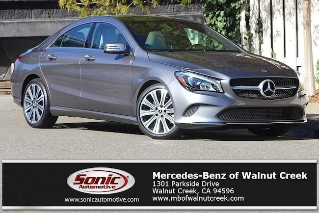 Certified Pre-Owned 2018 Mercedes-Benz CLA 250 Coupe for sale in Walnut Creek, near Oakland CA