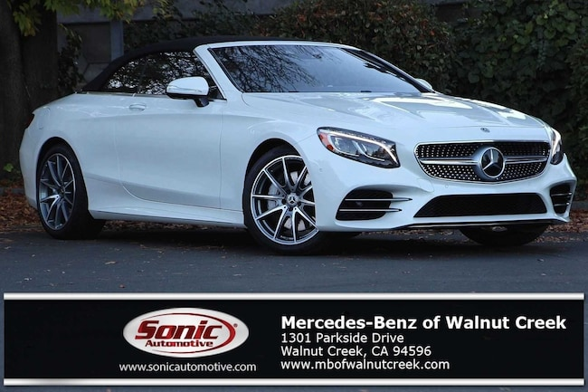 New 2019 Mercedes-Benz S-Class S 560 Cabriolet for sale near San Francisco, in Walnut Creek