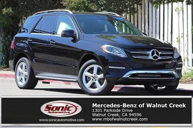 New 2018 Mercedes-Benz GLE 350 SUV for sale near San Francisco, in Walnut Creek
