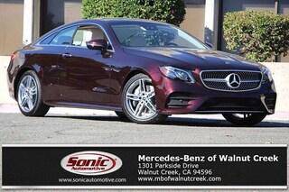 New 2019 Mercedes-Benz E-Class E 450 Coupe for sale in Walnut Creek, CA