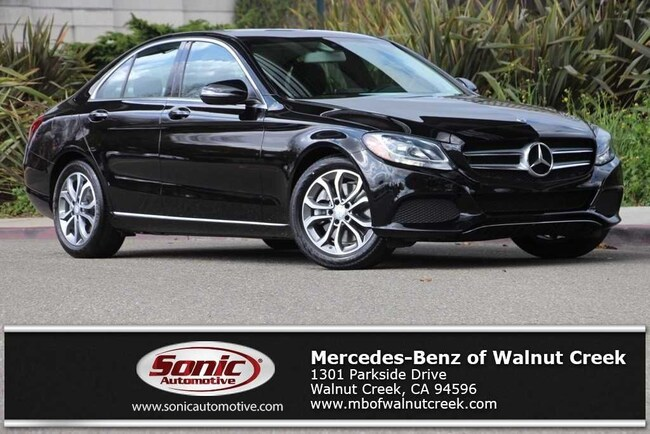 Certified Pre-Owned 2016 Mercedes-Benz C-Class C 300 Sport Sedan for sale in Walnut Creek, near Oakland CA
