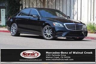 New 2018 Mercedes-Benz S-Class S 560 Sedan for sale in Walnut Creek, CA