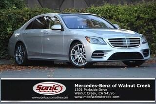 New 2019 Mercedes-Benz S-Class S 450 Sedan for sale in Walnut Creek, CA