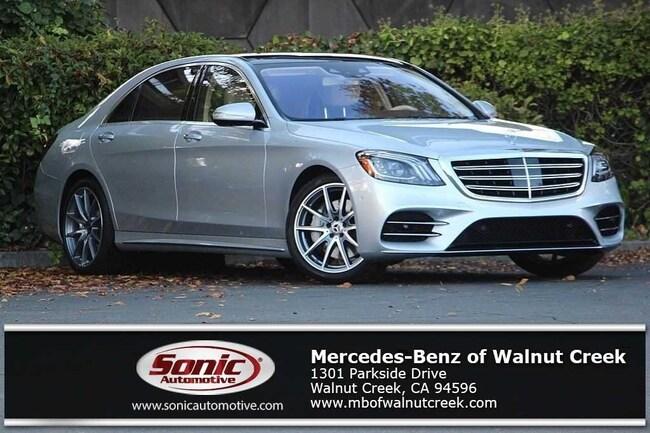 New 2019 Mercedes-Benz S-Class S 450 Sedan for sale near San Francisco, in Walnut Creek