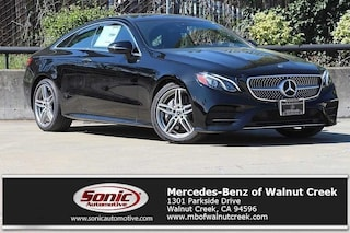 New 2018 Mercedes-Benz E-Class E 400 Coupe for sale in Walnut Creek, CA