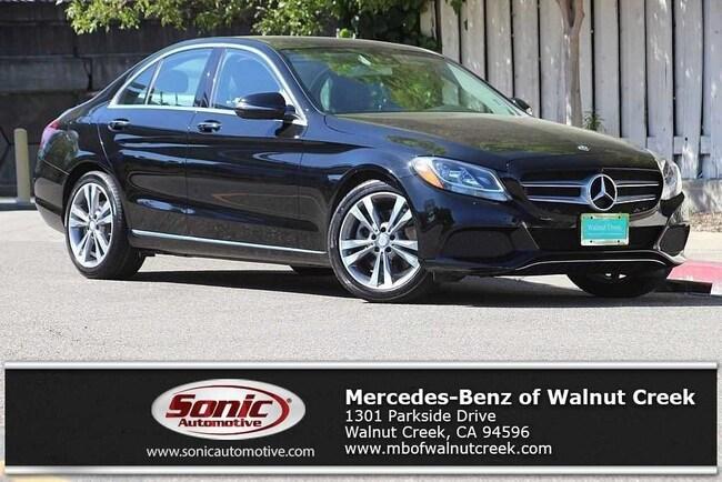Certified Pre-Owned 2016 Mercedes-Benz C-Class C 300 Sedan for sale in Walnut Creek, near Oakland CA