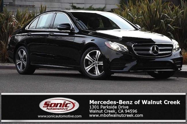 Certified Pre-Owned 2018 Mercedes-Benz E-Class E 300 Sedan for sale in Walnut Creek, near Oakland CA