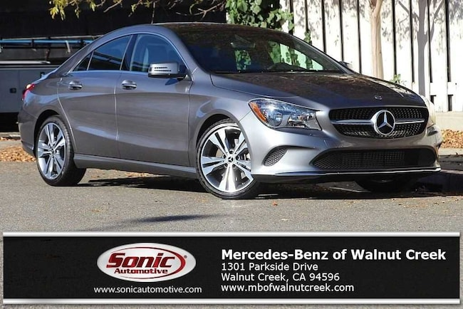 Certified Pre-Owned 2019 Mercedes-Benz CLA 250 Coupe for sale in Walnut Creek, near Oakland CA