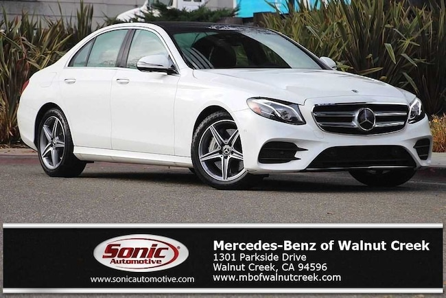 Certified Pre-Owned 2018 Mercedes-Benz E-Class E 300 Sedan for sale in Walnut Creek, near Oakland CA