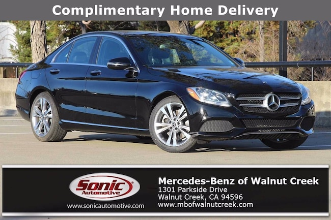 Certified Pre-Owned 2018 Mercedes-Benz C-Class C 300 Sedan for sale in Walnut Creek, near Oakland CA