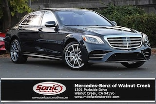 New 2019 Mercedes-Benz S-Class S 560 4MATIC Sedan for sale in Walnut Creek, CA