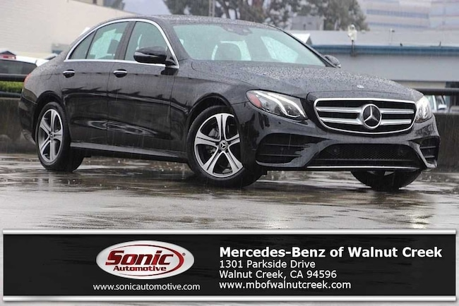 Certified Pre-Owned 2019 Mercedes-Benz E-Class E 300 Sedan for sale in Walnut Creek, near Oakland CA