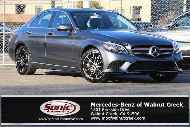 New 2019 Mercedes-Benz C-Class C 300 Sedan for sale near San Francisco, in Walnut Creek