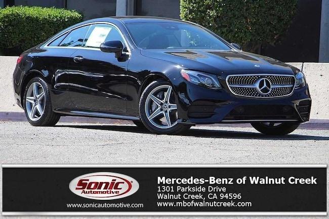 New 2019 Mercedes-Benz E-Class E 450 Coupe for sale near San Francisco, in Walnut Creek
