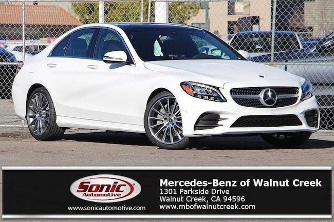 New 2019 Mercedes-Benz C-Class C 300 Sedan for sale near San Francisco, in Walnut Creek