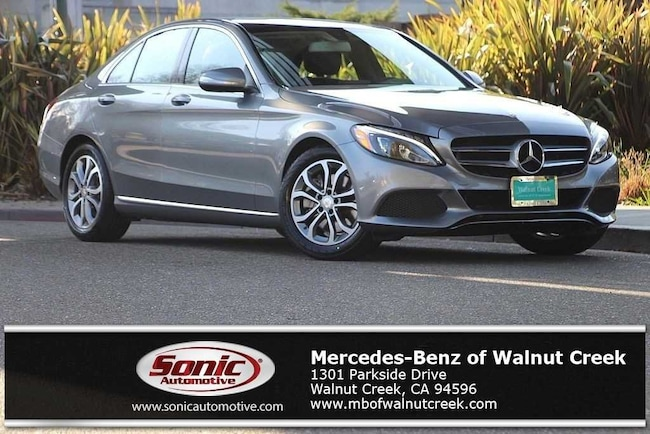 Certified Pre-Owned 2015 Mercedes-Benz C-Class C 300 Sedan for sale in Walnut Creek, near Oakland CA