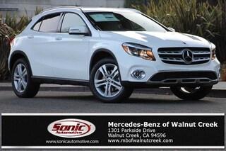 New 2019 Mercedes-Benz GLA 250 4MATIC SUV for sale in Walnut Creek, CA