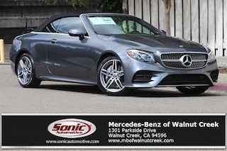 New 2019 Mercedes-Benz E-Class E 450 Cabriolet for sale in Walnut Creek, CA