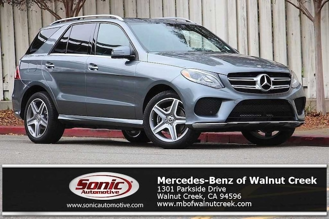 Certified Pre-Owned 2017 Mercedes-Benz GLE 350  4MATIC SUV for sale in Walnut Creek, near Oakland CA