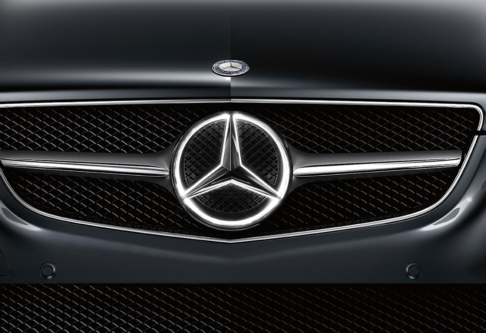 Mercedes Benz Illuminated Star