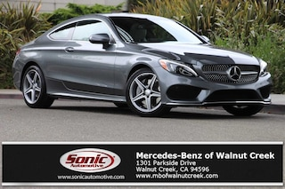 Certified Pre-Owned 2017 Mercedes-Benz C-Class C 300 Coupe for sale in Walnut Creek, near Oakland CA