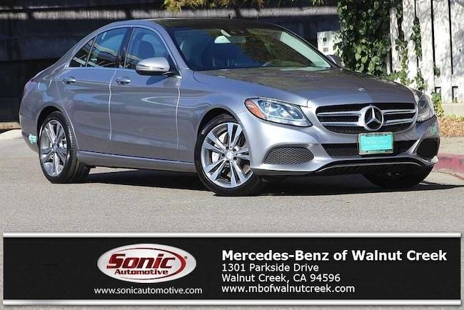 Certified Pre-Owned 2016 Mercedes-Benz C-Class C 350e Sedan for sale in Walnut Creek, near Oakland CA