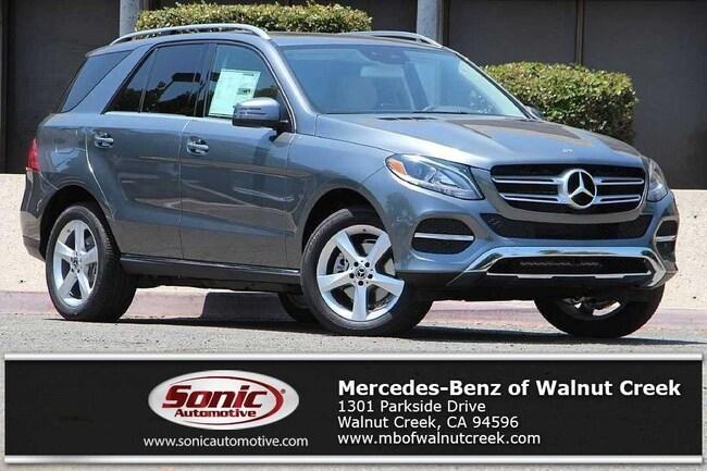 New 2018 Mercedes-Benz GLE 350 4MATIC SUV for sale near San Francisco, in Walnut Creek