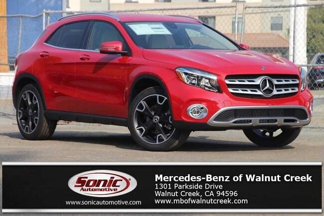 New 2019 Mercedes-Benz GLA 250 SUV for sale near San Francisco, in Walnut Creek