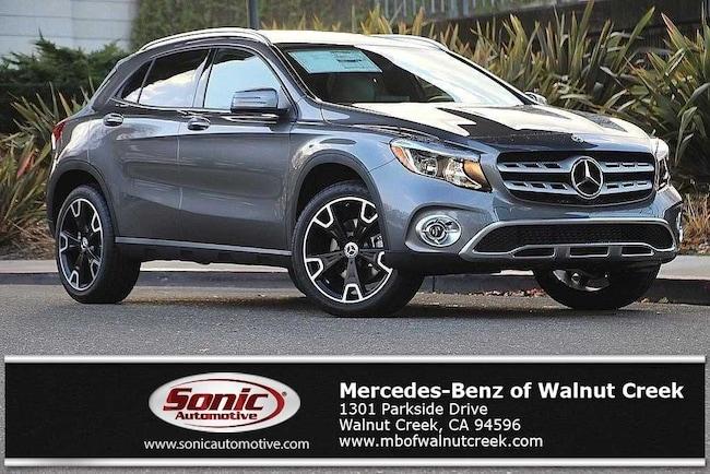 New 2019 Mercedes-Benz GLA 250 4MATIC SUV for sale near San Francisco, in Walnut Creek