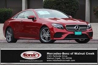 New 2018 Mercedes-Benz E-Class E 400 Coupe for sale in Walnut Creek, CA