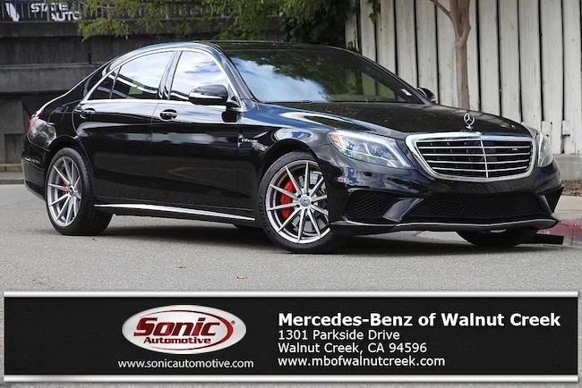 Certified Pre-Owned 2015 Mercedes-Benz S 63 AMG 4MATIC S 63 AMG Sedan for sale in Walnut Creek, near Oakland CA