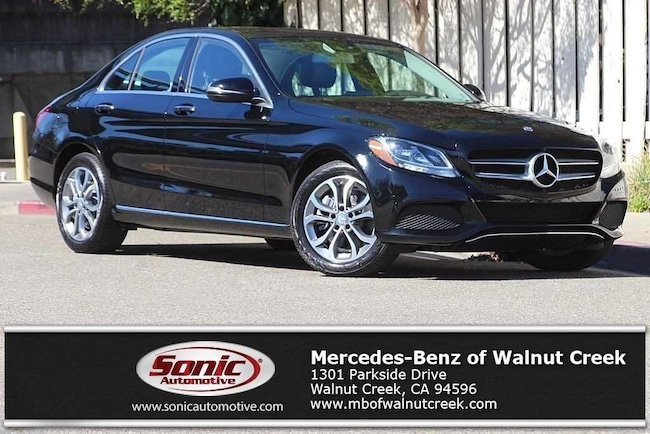 Certified Pre-Owned 2016 Mercedes-Benz C-Class C 300 Sedan for sale in Walnut Creek, near Oakland CA