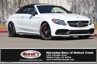 New 2018 Mercedes-Benz AMG C 63 AMG C 63 S Convertible for sale in Walnut Creek, CA